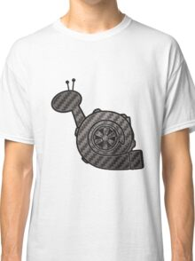 Carbon Fibre Turbo Snail Classic T-Shirt