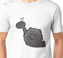 Carbon Fibre Turbo Snail Unisex T-Shirt