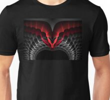 Interesting tech graphics ornament. Unisex T-Shirt