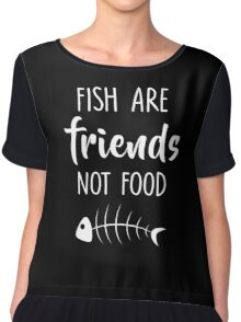 Funny nurse t shirts redbubble for Fish are friends not food