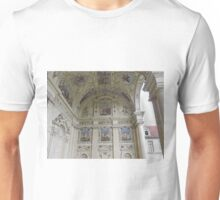 Portico, Senate Building, Prague, Czech Republic Unisex T-Shirt