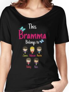 This Bramma belongs to James Addison Austin Oakley Nate Women's Relaxed Fit T-Shirt
