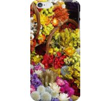 Colorful Flower Baskets iPhone Case/Skin