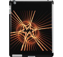 Fun bright geometric abstraction in aggressive style iPad Case/Skin