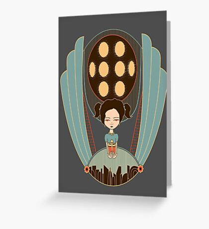 Bioshock little sister cool design Greeting Card