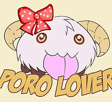 Poro Lover Female - League of Legends by Geeksetas