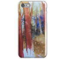 Alla fine dell'estate il bosco diventa più bello iPhone Case/Skin