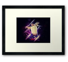 Male jumper Framed Print