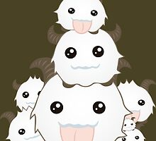 Poro Party - League of Legends by Geeksetas