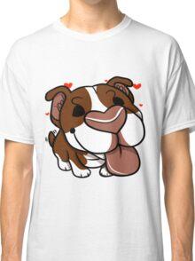 Pittie Kiss Classic T-Shirt