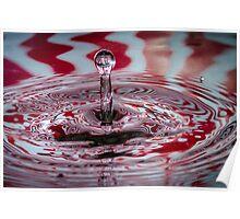 Fractal waterdrop Poster