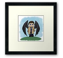 Castiel the Angel of the Lord Framed Print