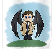 Castiel the Angel of the Lord Poster
