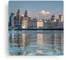 Liverpool's Three Graces Canvas Print