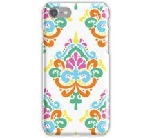 Multicolor Damask Ornament iPhone Case/Skin