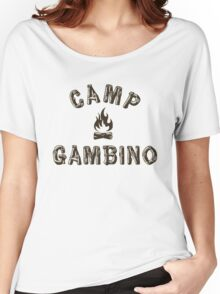 Camp Gambino Women's Relaxed Fit T-Shirt