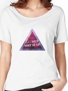 Leonly Way Is Up Women's Relaxed Fit T-Shirt