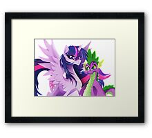 Guardians of Friendship Framed Print