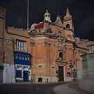 Our Lady of Liesse Church -- Valletta Malta by Edwin  Catania