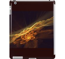 Interesting  abstract background in brown and golden tones  iPad Case/Skin