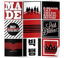 Big Bang Made Pattern Poster