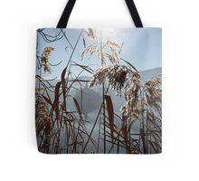 Misty Reeds Tote Bag