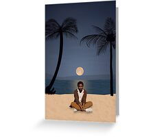 Late Night In KAUAI Greeting Card