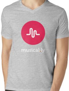 Musical.ly Mens V-Neck T-Shirt