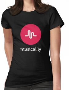 Musical.ly Womens Fitted T-Shirt