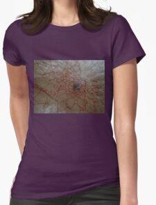 Dreamcatcher web  Womens Fitted T-Shirt
