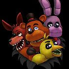 Five Nights at Freddy's by scittykitty