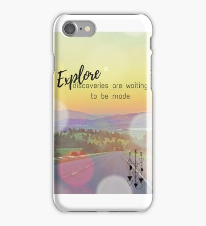 Explore Today iPhone Case/Skin