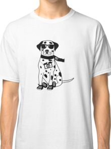 Hipster Dalmatian - Cute Dog Cartoon Character Classic T-Shirt