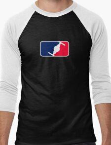 Major League Empire (Parody) Men's Baseball ¾ T-Shirt