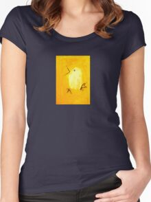 Yellow Canary Women's Fitted Scoop T-Shirt