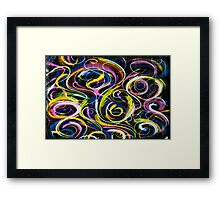 round and round . . . Framed Print
