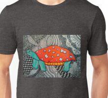 Mushroom Cap Turtle Unisex T-Shirt