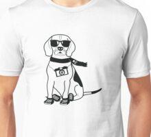 Hipster Beagle - Cute Dog Cartoon Character Unisex T-Shirt