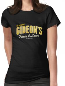 Gideon's Pawn & Loan Womens Fitted T-Shirt