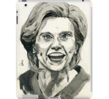 Kate McKinnon as SNL Hillary Clinton  iPad Case/Skin