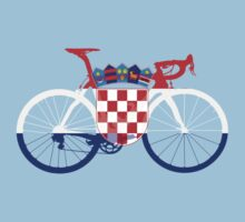 Bike Flag Croatia (Big) by sher00