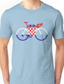 Bike Flag Croatia (Big) Unisex T-Shirt