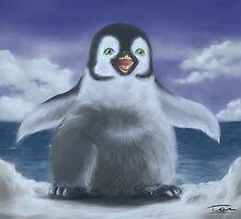 A little penguin by Kitsune Arts