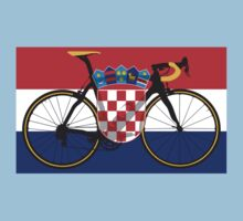 Bike Flag Croatia (Big - Highlight) by sher00