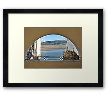 Another Arch View From PortMeirion Framed Print