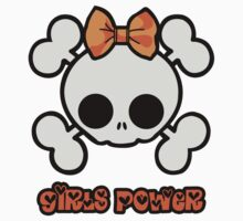 Girl's Power One Piece - Short Sleeve