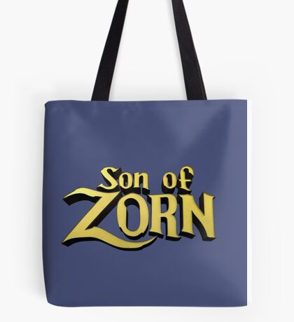 Son of Zorn Fan Art Print Design on Bitter Blue Tote Bag