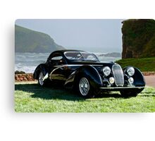 1938 Talbot Lago T150 C Speciale Tear Drop Coupe II Canvas Print