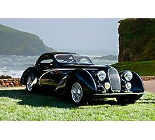 1938 Talbot Lago T150 C Speciale Tear Drop Coupe II Photographic Print