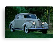 1940 Packard Super 8 160 Convertible Coupe Canvas Print